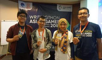 Writingthon Asian Games 2018, Antara Drama dan Kebahagiaan