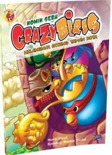 """Komik """"Petualangan Seru Crazy Birds: Hilangnya Patung Taman Kota"""" (DAR! Mizan, 2013)"""