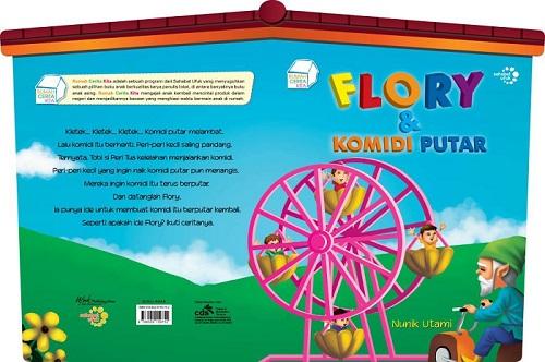 """Pictorial Book """"Flory dan Komidi Putar"""" (Ufuk Kecil, 2011)"""