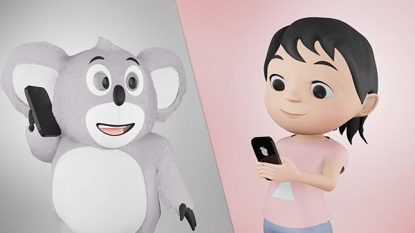Hoala Koala era digital